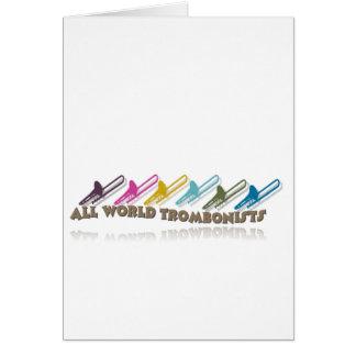 Facebook trombone group design card