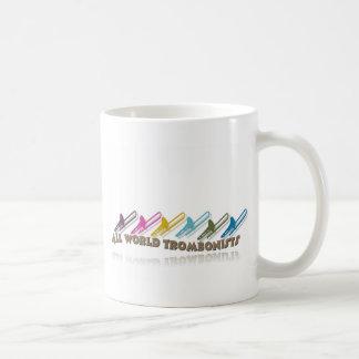 Facebook trombone group design coffee mug