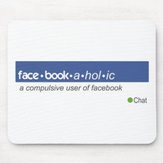 Facebookaholic Mouse Mat