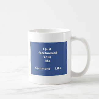 Facebooked Coffee Mug