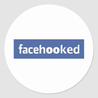 facehooked round sticker