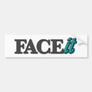 FACEit Bumper Sticker