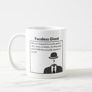 Faceless Ghost Coffee Mug