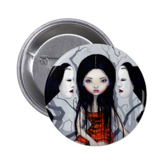 """Faceless Ghosts"" Button"