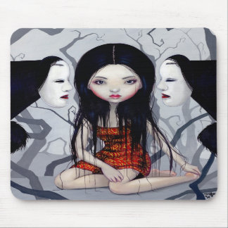 Faceless Ghosts gothic Japanese horror Mousepad
