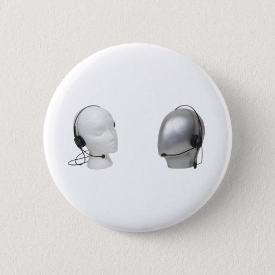 FacelessService090309 6 Cm Round Badge