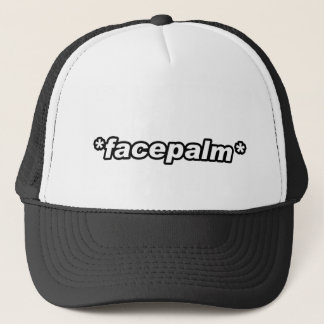 FacePalm 11 Trucker Hat