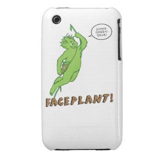 FACEPLANT! iphone case