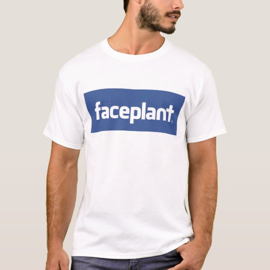 Faceplant t-shirt