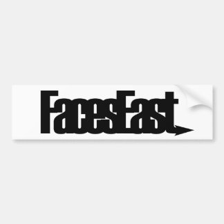Faces East Logo Bumper Sticker