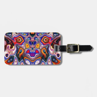 Faces In Abstract Shapes 3 Luggage Tag