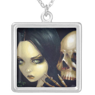 Faces of Faery 103 NECKLACE skull vampire fairy