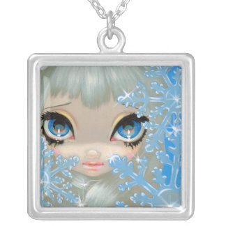 Faces of Faery 135 NECKLACE snowflake fairy