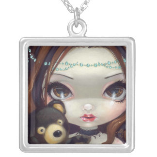 Faces of Faery #69 NECKLACE teddy bear fairy