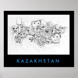 Faces of Kazakhstan Poster
