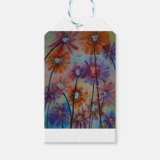 Faces of the flowers gift tags