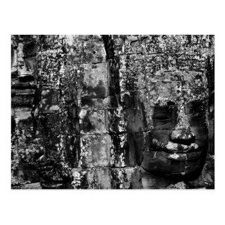 Faces on the Bayon (postcard) Postcard