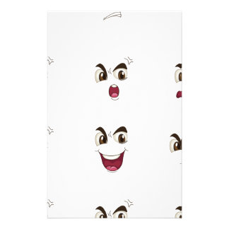 faces stationery