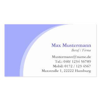 Fachverkäufer Fachverkäuferin  Visitenkarten Pack Of Standard Business Cards