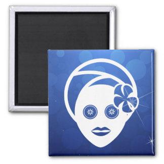 Facial Applies Minimal Square Magnet