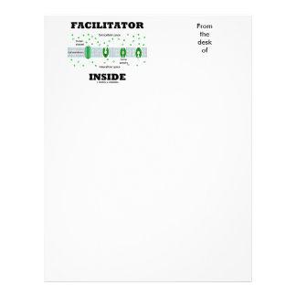 Facilitator Inside (Facilitated Diffusion) Customised Letterhead