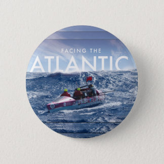 Facing the Atlantic - Round button