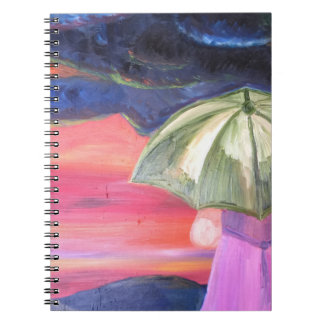 Facing The Storms Photo Notebook (80 Pages B&W)