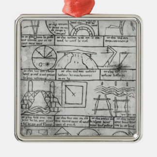 Facsimile copy of Geometrical figures Christmas Ornament