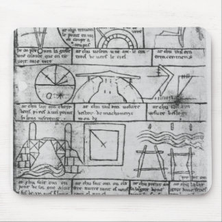 Facsimile copy of Geometrical figures Mouse Mat