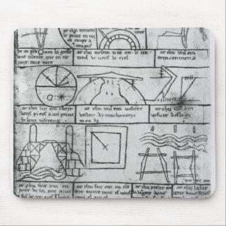 Facsimile copy of Geometrical figures Mouse Pad