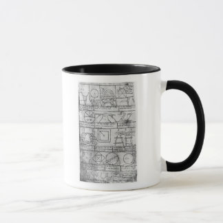 Facsimile copy of Geometrical figures Mug