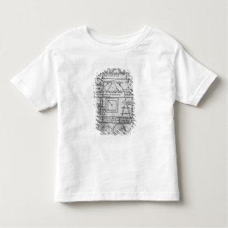 Facsimile copy of Geometrical figures Toddler T-Shirt