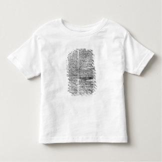 Facsimile copy toddler T-Shirt