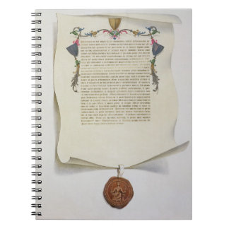 Facsimile edition of the Magna Carta, first publis Notebooks