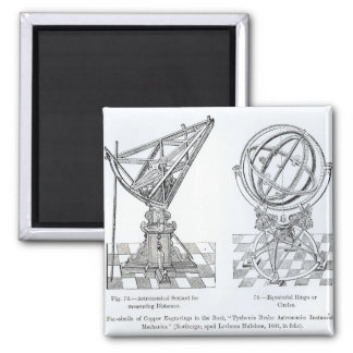 Facsimile of Copper Engravings Magnet