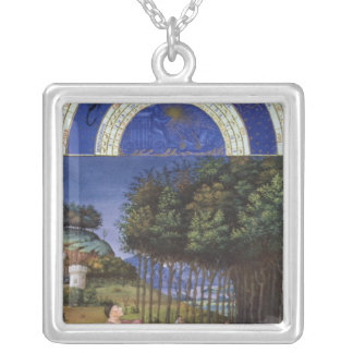 Facsimile of November Silver Plated Necklace