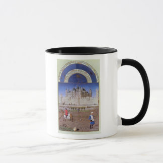 Facsimile of October: sowing the winter grain Mug