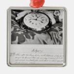Facsimile of the Pocket Chronometer Christmas Ornament