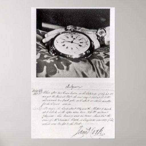 Facsimile of the Pocket Chronometer Poster