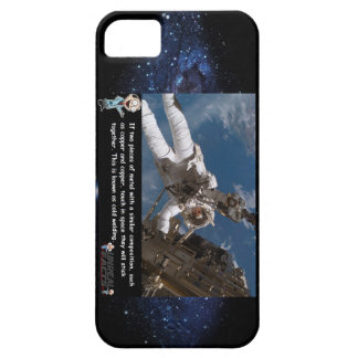 Fact: Metal welds in space by touch iPhone 5 Cover