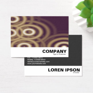 "Factor ""O"" Abstract Business Card"