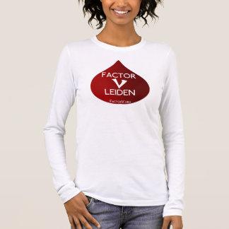 Factor V Leiden Awareness Long Sleeve T-Shirt