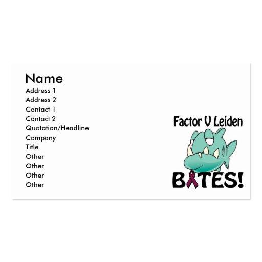 Factor V Leiden BITES Business Cards