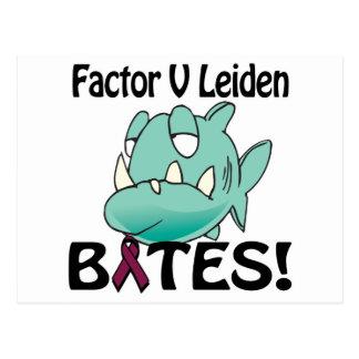 Factor V Leiden BITES Postcard