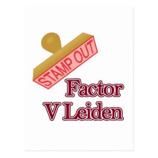 Factor V Leiden Post Card