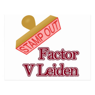 Factor V Leiden Postcard