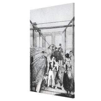 Factory Children, or Love conquerd fear Canvas Print