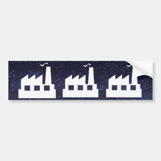 Factory Complex Symbol Bumper Sticker