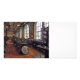 Factory Machine Shop Customized Photo Card