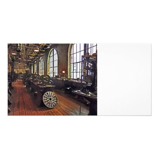 Factory Machine Shop Customized Photo Card